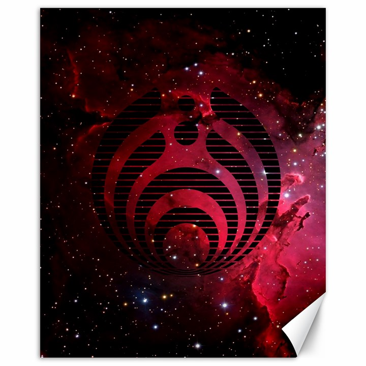 Bassnectar Galaxy Nebula Canvas 16  x 20