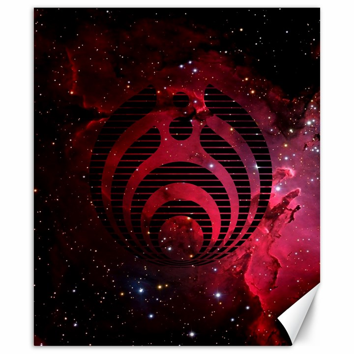 Bassnectar Galaxy Nebula Canvas 20  x 24