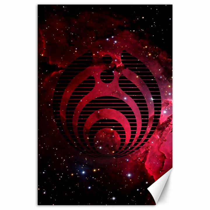 Bassnectar Galaxy Nebula Canvas 24  x 36