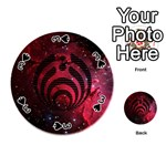 Bassnectar Galaxy Nebula Playing Cards 54 (Round)  Front - Spade3