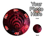 Bassnectar Galaxy Nebula Playing Cards 54 (Round)  Front - Heart10