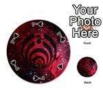 Bassnectar Galaxy Nebula Playing Cards 54 (Round)  Front - Spade7