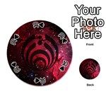 Bassnectar Galaxy Nebula Playing Cards 54 (Round)  Front - Spade10