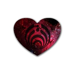 Bassnectar Galaxy Nebula Rubber Coaster (Heart)
