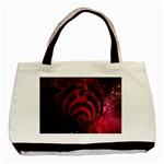 Bassnectar Galaxy Nebula Basic Tote Bag (Two Sides) Back