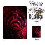 Bassnectar Galaxy Nebula Multi-purpose Cards (Rectangle)  Back 30