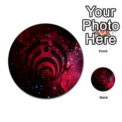 Bassnectar Galaxy Nebula Multi-purpose Cards (Round)
