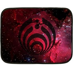 Bassnectar Galaxy Nebula Double Sided Fleece Blanket (mini)