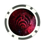 Bassnectar Galaxy Nebula Poker Chip Card Guards (10 pack)  Front