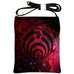 Bassnectar Galaxy Nebula Shoulder Sling Bags