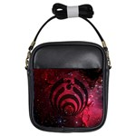 Bassnectar Galaxy Nebula Girls Sling Bags Front