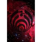 Bassnectar Galaxy Nebula 5.5  x 8.5  Notebooks Back Cover