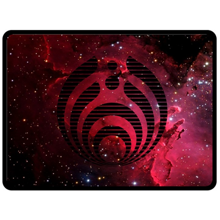 Bassnectar Galaxy Nebula Fleece Blanket (Large)