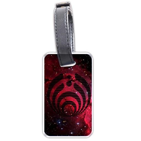 Bassnectar Galaxy Nebula Luggage Tags (Two Sides)