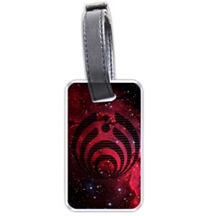 Bassnectar Galaxy Nebula Luggage Tags (Two Sides)