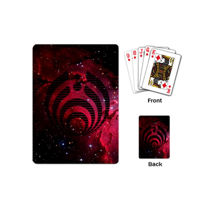 Bassnectar Galaxy Nebula Playing Cards (Mini)