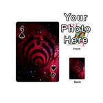 Bassnectar Galaxy Nebula Playing Cards 54 (Mini)  Front - Spade4