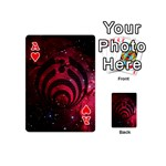 Bassnectar Galaxy Nebula Playing Cards 54 (Mini)  Front - HeartA