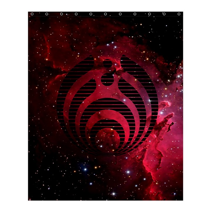 Bassnectar Galaxy Nebula Shower Curtain 60  x 72  (Medium)
