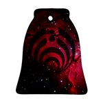 Bassnectar Galaxy Nebula Ornament (Bell)  Front