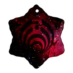 Bassnectar Galaxy Nebula Snowflake Ornament (2-Side)