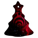 Bassnectar Galaxy Nebula Christmas Tree Ornament (2 Sides) Front