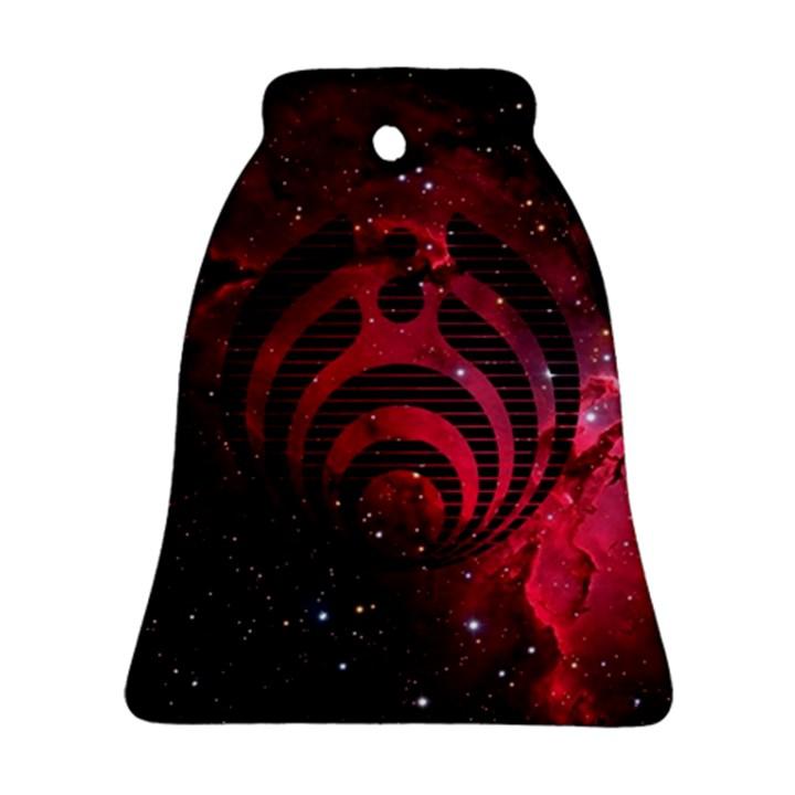 Bassnectar Galaxy Nebula Bell Ornament (2 Sides)