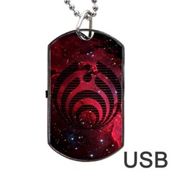 Bassnectar Galaxy Nebula Dog Tag USB Flash (One Side)