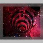 Bassnectar Galaxy Nebula Deluxe Canvas 20  x 16   20  x 16  x 1.5  Stretched Canvas