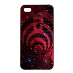 Bassnectar Galaxy Nebula Apple iPhone 4/4s Seamless Case (Black) Front