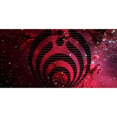 Bassnectar Galaxy Nebula You Are Invited 3d Greeting Card (8x4)