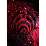 Bassnectar Galaxy Nebula WORK HARD 3D Greeting Card (7x5) Inside