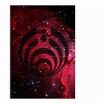 Bassnectar Galaxy Nebula Small Garden Flag (Two Sides) Back