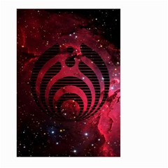 Bassnectar Galaxy Nebula Large Garden Flag (Two Sides)