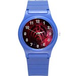 Bassnectar Galaxy Nebula Round Plastic Sport Watch (S) Front