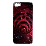Bassnectar Galaxy Nebula Apple iPhone 5 Case (Silver) Front