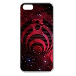 Bassnectar Galaxy Nebula Apple Seamless iPhone 5 Case (Clear) Front