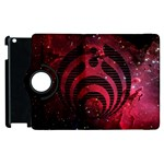 Bassnectar Galaxy Nebula Apple iPad 3/4 Flip 360 Case Front