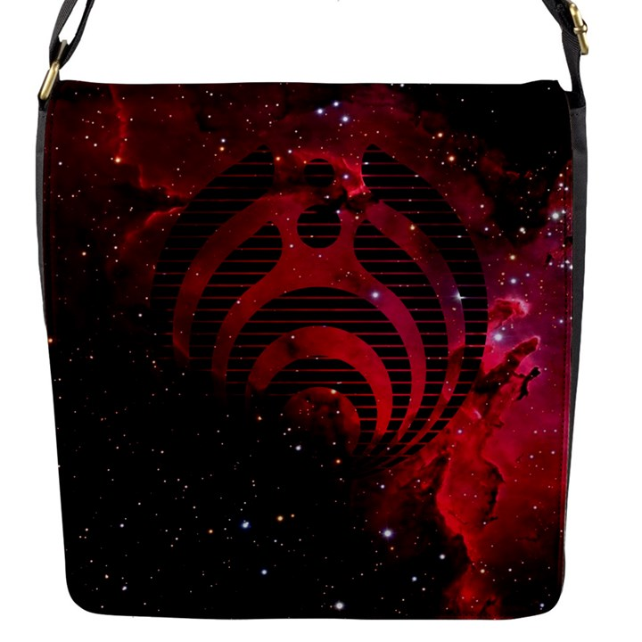 Bassnectar Galaxy Nebula Flap Messenger Bag (S)