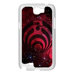 Bassnectar Galaxy Nebula Samsung Galaxy Note 2 Case (White)