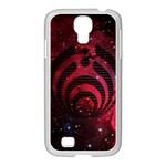 Bassnectar Galaxy Nebula Samsung GALAXY S4 I9500/ I9505 Case (White) Front