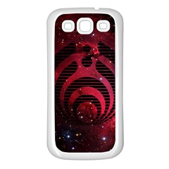Bassnectar Galaxy Nebula Samsung Galaxy S3 Back Case (white)