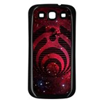 Bassnectar Galaxy Nebula Samsung Galaxy S3 Back Case (Black) Front