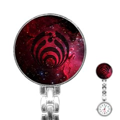 Bassnectar Galaxy Nebula Stainless Steel Nurses Watch