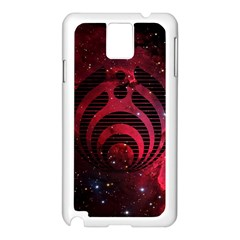 Bassnectar Galaxy Nebula Samsung Galaxy Note 3 N9005 Case (white)