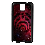 Bassnectar Galaxy Nebula Samsung Galaxy Note 3 N9005 Case (Black) Front