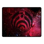 Bassnectar Galaxy Nebula Double Sided Fleece Blanket (Small)  50 x40 Blanket Front