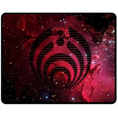 Bassnectar Galaxy Nebula Double Sided Fleece Blanket (Medium)