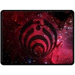 Bassnectar Galaxy Nebula Double Sided Fleece Blanket (Large)  80 x60 Blanket Back