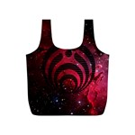 Bassnectar Galaxy Nebula Full Print Recycle Bags (S)  Front
